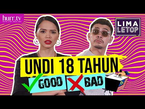 Undi 18 Tahun. Good Or Bad?? | LimaLeTop!