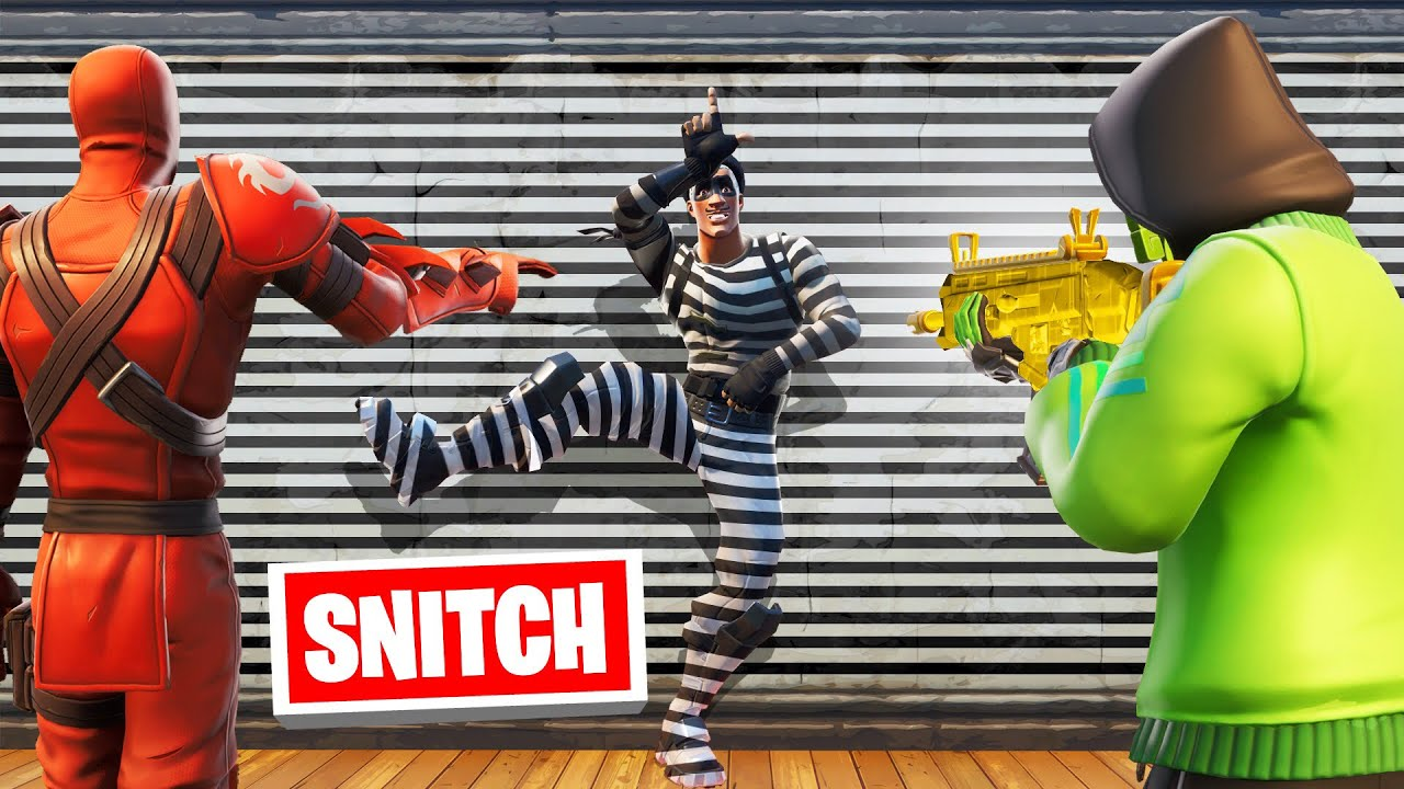 SNITCH The HIDER To SURVIVE! (Fortnite Hide And Seek)