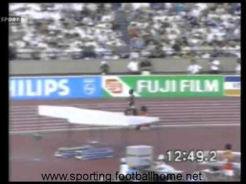 Atletismo :: Domingos Castro em 5º lugar nos 5000m do Campeonato do Mundo em 1991