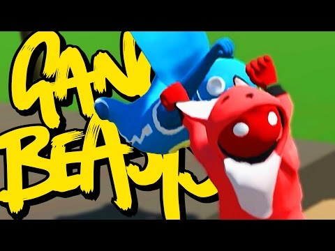 Gang Beasts Online - THE GLITCHES ARE REAL! (Beta)