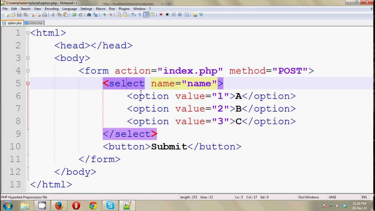 php post tutorial