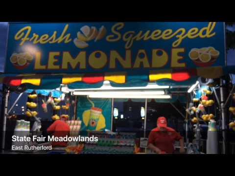 Lemonade at State Fair Meadowlands