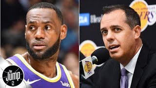 Lakers coach denies LeBron James has been named starting point guard | The Jump