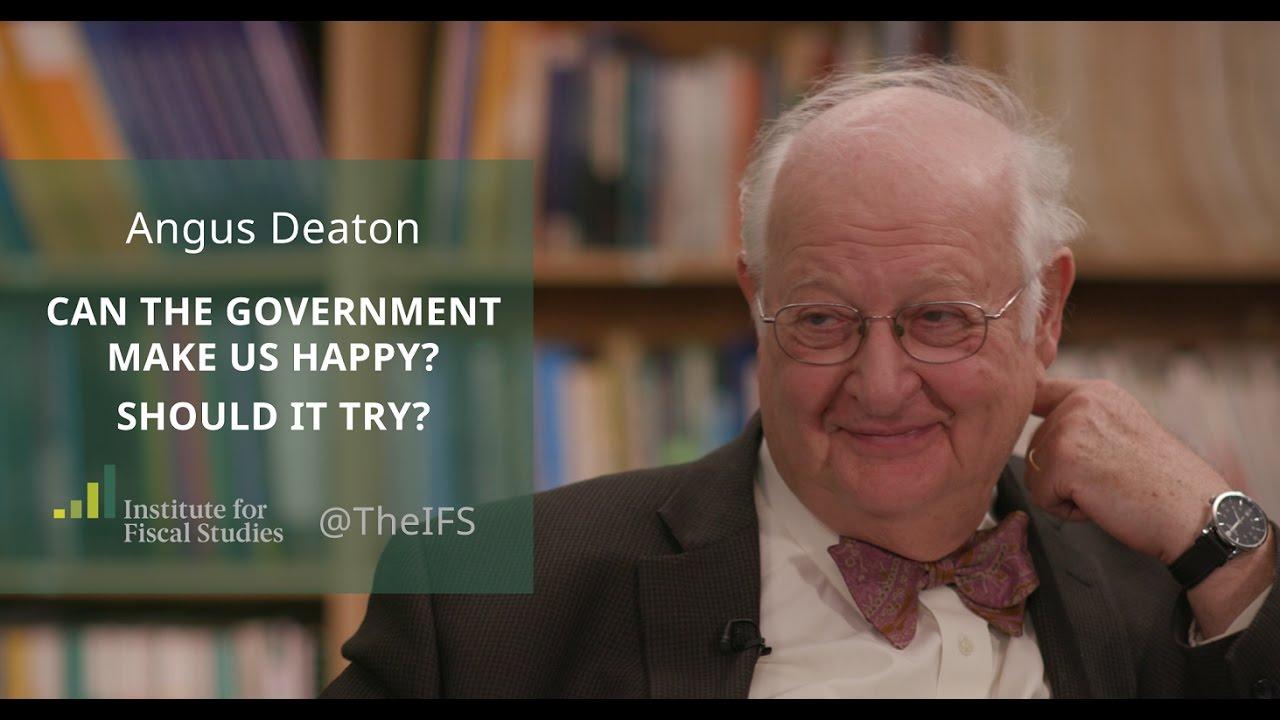 Angus Deaton - Biographical - NobelPrize.org