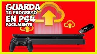 Guardar Progresos de Juegos PS4 [USB y PSPlus] 📥