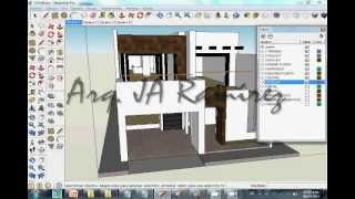 VIDEO TUTORIAL SKETCHUP-ARTLANTIS 1/2