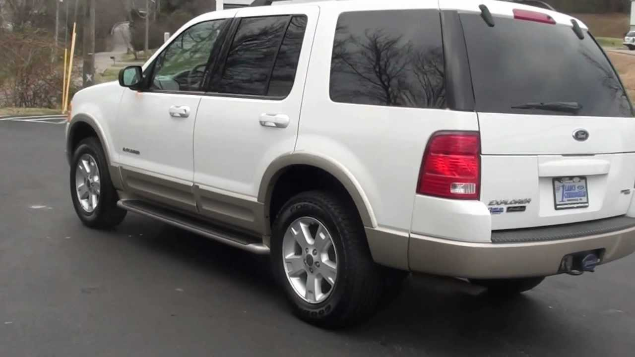 for sale 2005 ford explorer eddie bauer 1 owner stk 20404a wwwlcfordcom youtube - 2005 Ford Explorer Interior