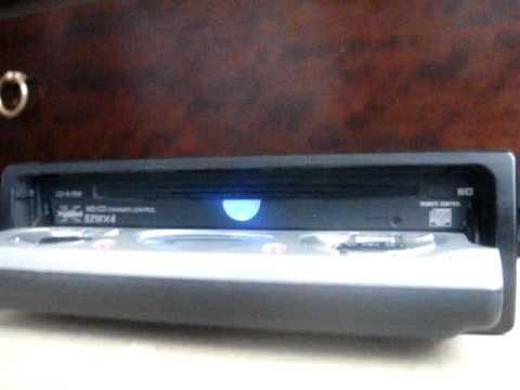 Sony Cdx-m800 Demo