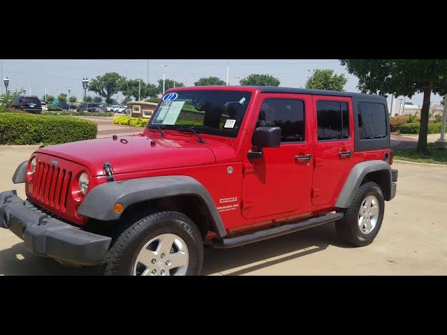 Low miles 2012 Jeep Wrangler