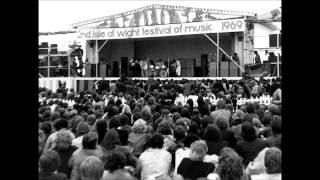 Amazing Grace by The Great Awakening. The theme music of the 1969 Isle of Wight Festival