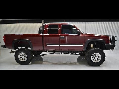 2003 Chevy Silverado 2500hd Diesel Lifted Truck For Sale