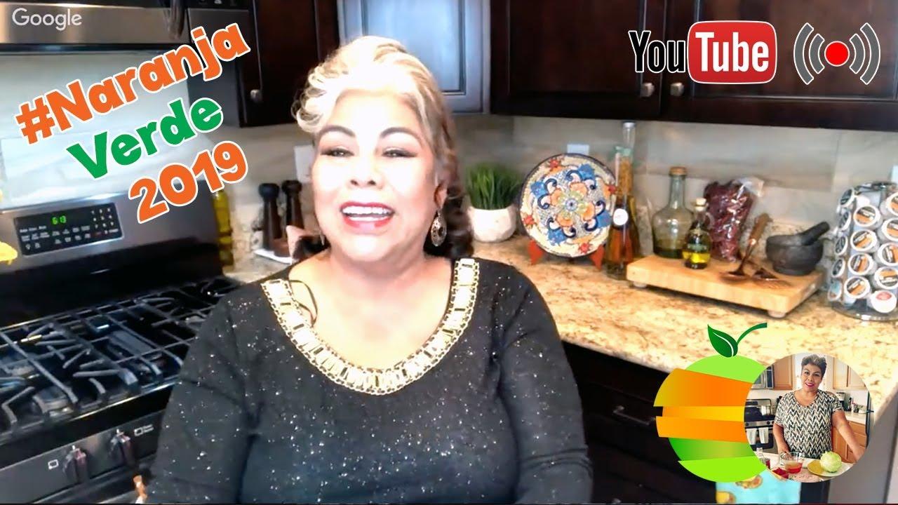 Naranjeando Con La Sra Lety Del Canal La Cocina De Lety Youtube