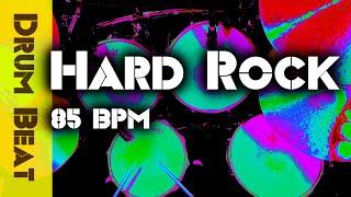 Hard Rock Drum Track - 85 BPM