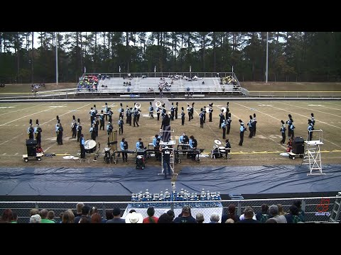 Overhills High School Marching Jaguars at Union Pines 10/26/2019