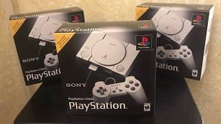 Sony [ PlayStation Classic ] Unboxing Video - MrMaD