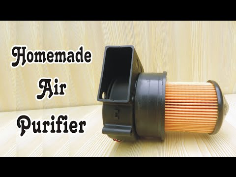 How To Make Homemade Air Purifier