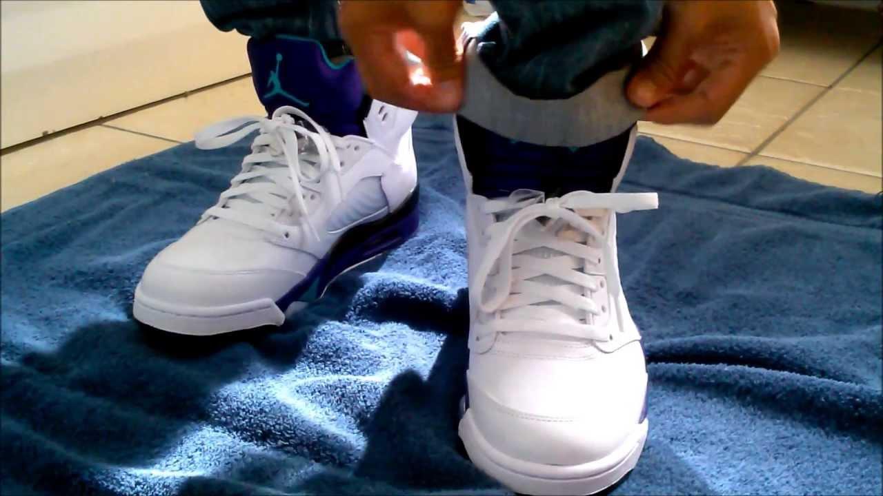 37414fd7348f50 Grape 5 s on feet - YouTube