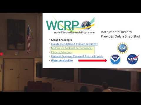 Decoding Climate System Secrets: Prof Lowell Stott (April 2016)