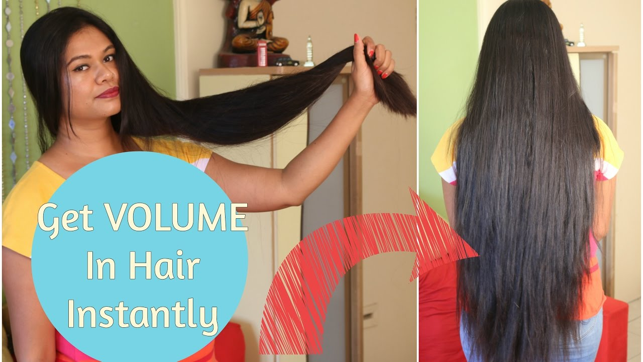 you tube how to get volume in thin hair