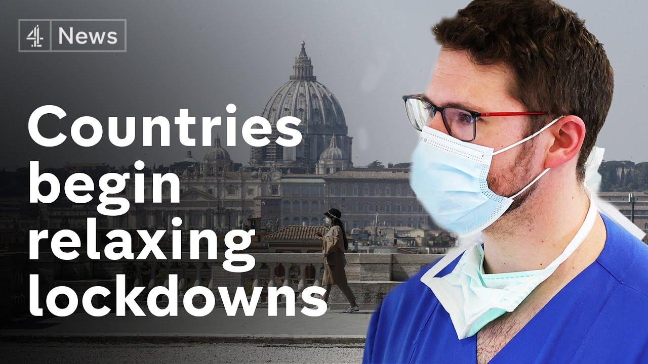 European countries begin to relax coronavirus lockdowns