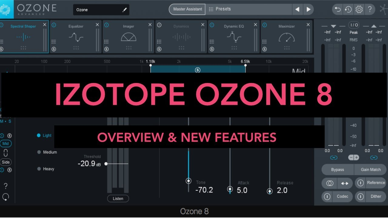 Izotope Ozone 8 Overview & New Features