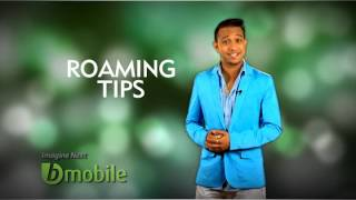 roaming with bmobile
