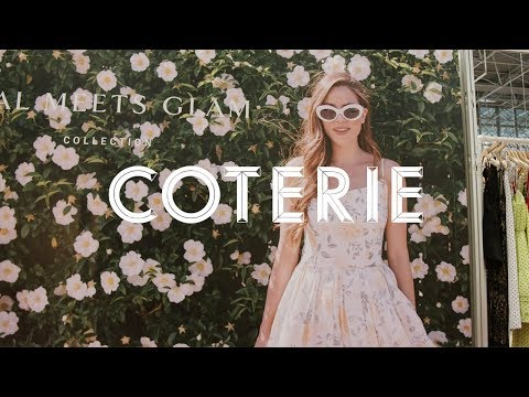 COTERIE | Gal Meets Glam x William Graper - YouTube