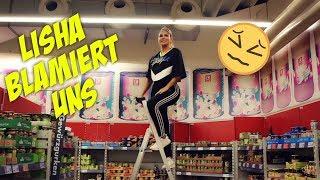 Supermarkt Vlog ( Lisha ist PEINLICH ) | Lisha&Lou