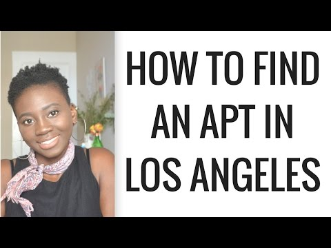 How To Find An Apartment in Los Angeles