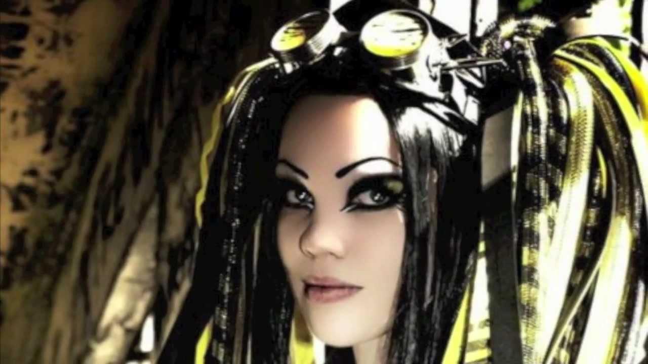 Electro Wallpaper Girl Terrorcat Vs Gretevongothic Cybergoth Youtube