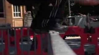 Трюки в паркуре (Precision (1 footed take off))