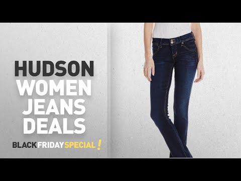 Top Black Friday Hudson Women Jeans: Hudson Jeans Women's Beth Baby Bootcut Flap Pocket Elysian