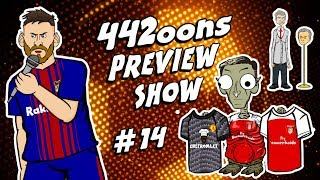 😱MESSI STORMS OUT😱(442oons Preview Show - Arsenal vs Man Utd Preview & more)
