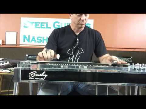 Bentley pedal steel guitar