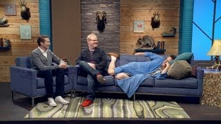 Comedy Bang! Bang! - Jim Gaffigan Wears a Blue Jacket & Plum T-Shirt; bonus episode of The Birthday Boys Skewered!