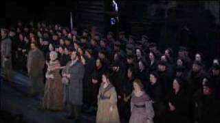 Mob scene from Peter Grimes