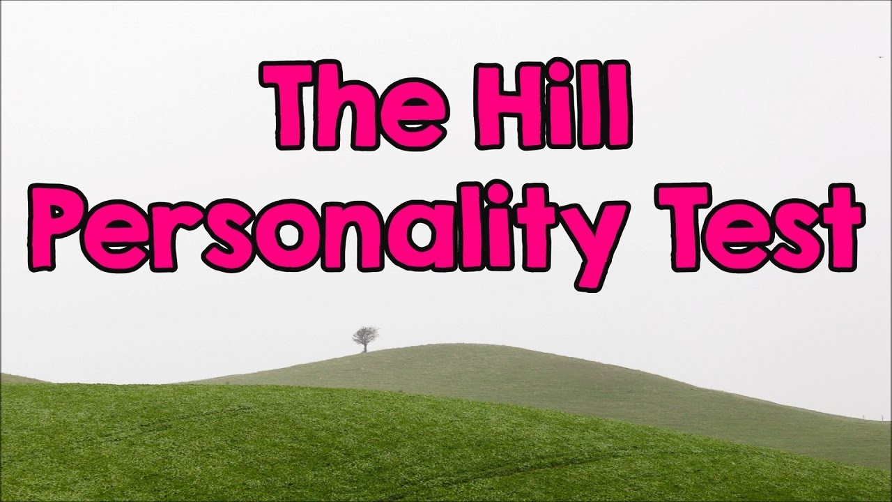 4 Jahres Bettdecken Test Personality Test: What Do You See On The Hill? - Youtube