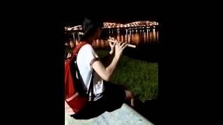 Ngược dòng hương giang thổi sáo Nhím Bông