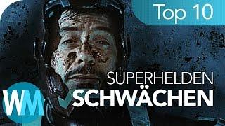 Top 10 Schwächen der Superhelden