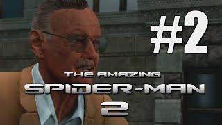 The Amazing Spider Man 2 - Walkthrough Part 2 - Saving A Star