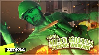 AMAZING GAME! | The Mean Greens: Plastic Warfare