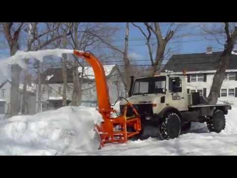 High Deep Snow Plow Blower Removal Mega Machines: Grader Tractor Loader Bulldozer Technology
