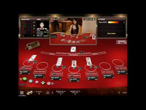 Live Blackjack by Microgaming