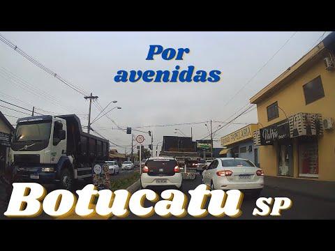 Botucatu-SP Por avenidas
