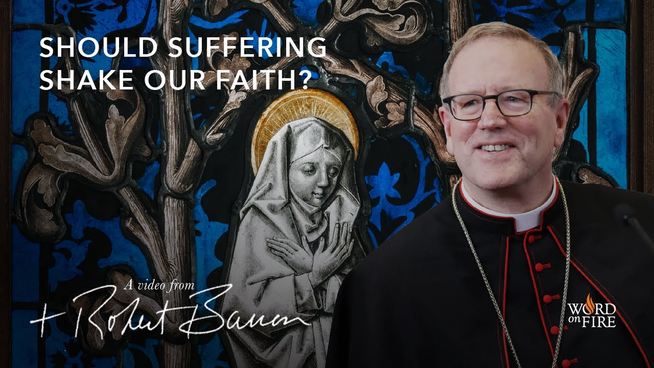 Bishop Barron on Should Suffering Shake Our Faith?