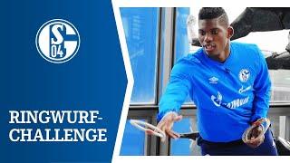 Embolo VS Caligiuri | Ringwurf-Challenge | FC Schalke 04