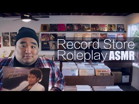 [ASMR] Record Store Roleplay | MattyTingles