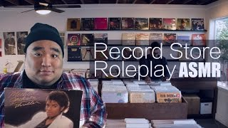[ASMR] Record Store Roleplay   MattyTingles