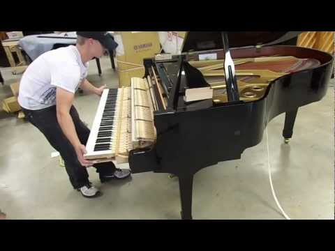 How To Setup a Grand Piano Outlet