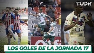 Los Goles de los jornada 17 de la Liga Mx